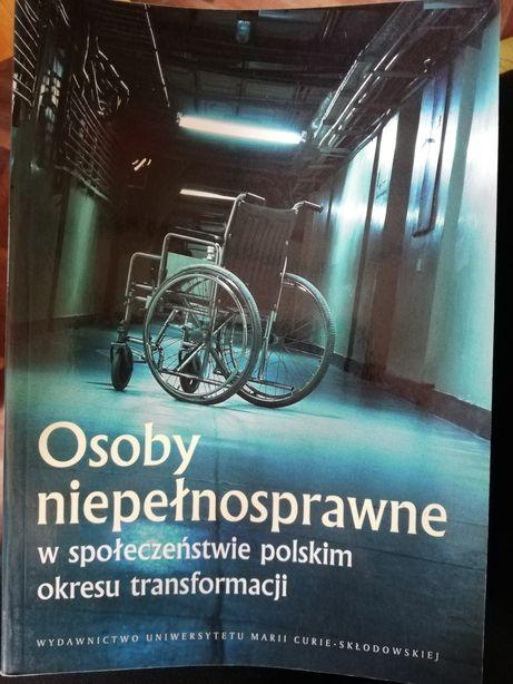 Książki osoby niepełnosprawne praca dyplomowa edukacja zdrowotna