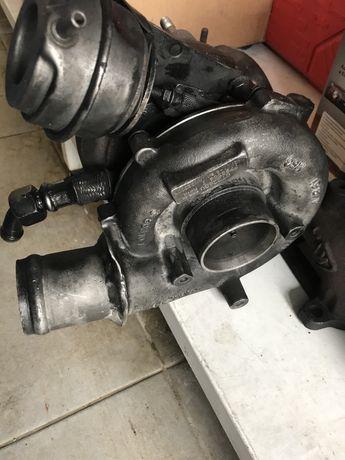 Turbo 2260v e tubagens em inox