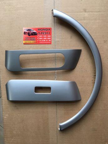 Honda Jazz II 2001- Panele Drzwi+ Licznika Komplet Nowe Oryginał
