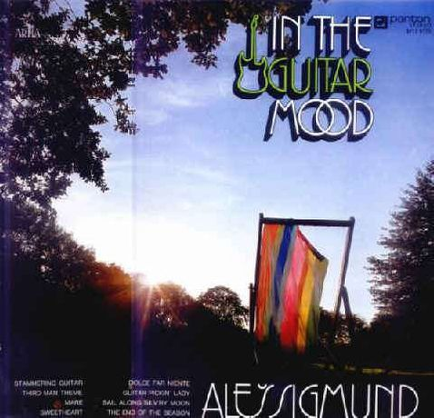 ALES SIGMUNT In the guitar mood - album - płyta LP vinyl 33