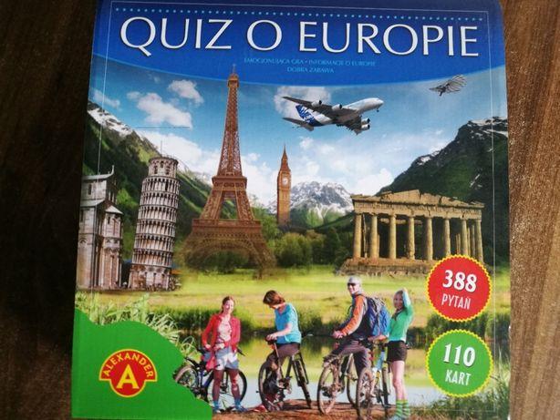 Quiz o Europie gra Aleksander