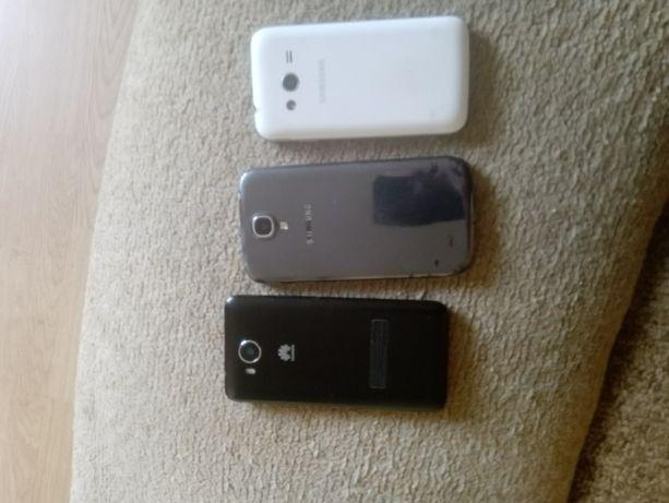 Sprzedam 3 smartfony uszkodzone