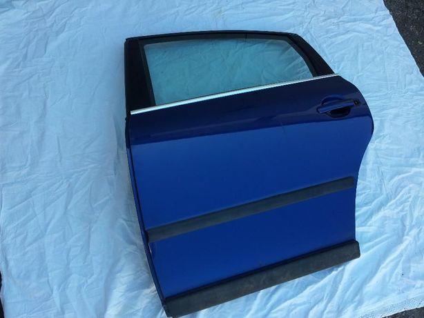 Drzwi lewy tył VW Passat B5 szyba listwy mozliwa zamiana na telefon