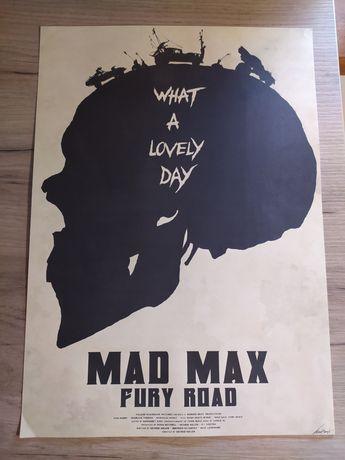 Plakat Mad Max Fury Road