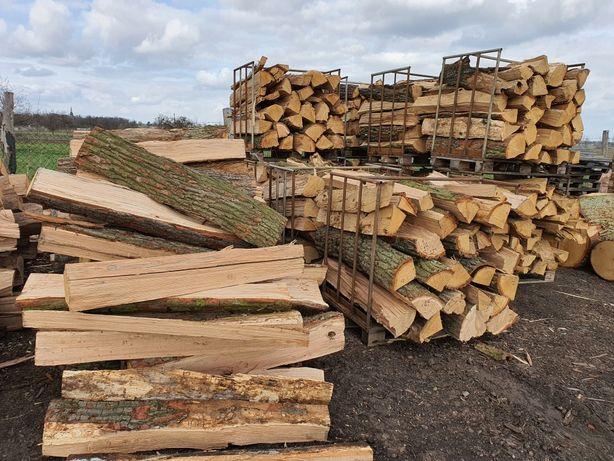 Drewno kominkowe opalowe dąb