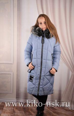 Зимнее пальто Кико на девочку 164р