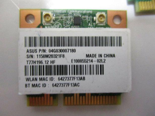 Atheros Mini PCI Express Wi-fi Card (Asus)