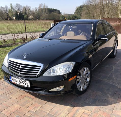 MERCEDES w221 LONG panorama/nightvision/masaże