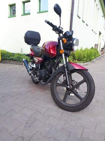 Junak 122 f Motocykl 125 kat B