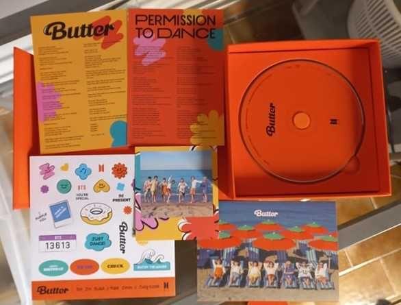 BTS - Butter ver. Peaches