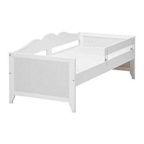 Piekne łóżko IKEA Hensvik + stelaż + barierka