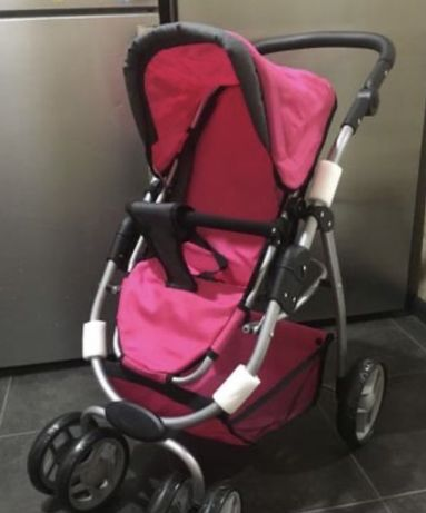Детская игрушечная коляска трансформер