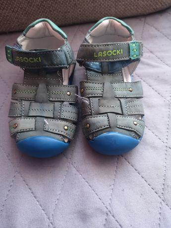 Sandały sandałki rozm 19 Lasocki