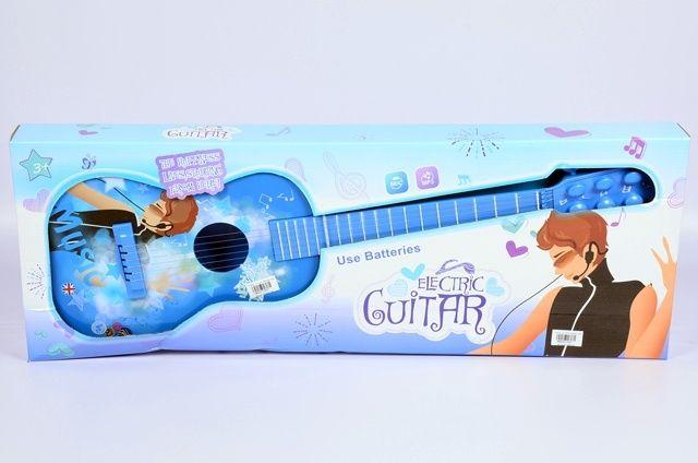 Elektryczna gitara ze strunami