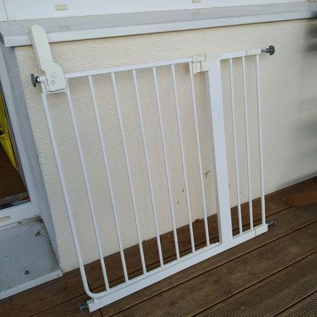Bramka zabezpieczająca do kuchni schody rozporowa ochronna IKEA