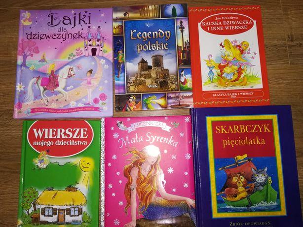 Bajki polskie legendy twarda oprawa wiersze tanio zestaw komplet
