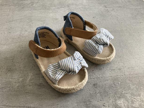 H&M sandały dziewczęce 18-19