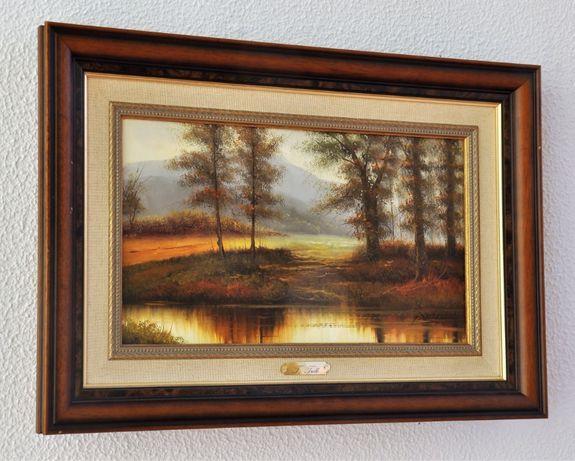 Pintura óleo sobre tela original T. Trulli