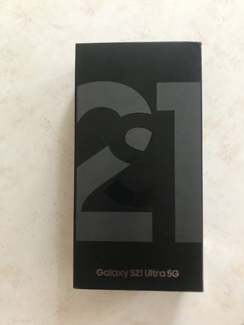 Samsung S 21 Ultra 5 g  256 GB