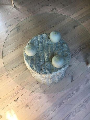 REZERWACJA Stół szklany okrągły W52 Śr70