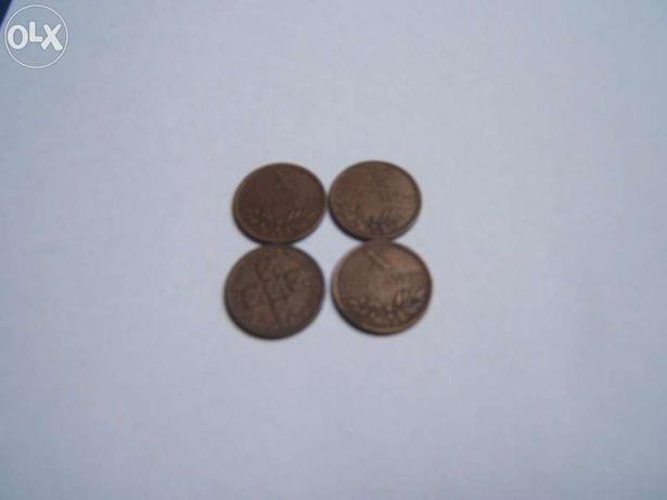 Moedas de X centavos, Bronze de 1958 a 1969