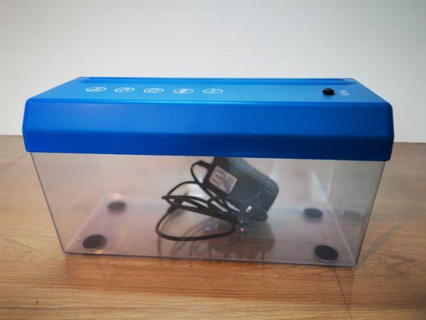 Niszczarka dokumentów biurkowa baterie bądź zasilacz