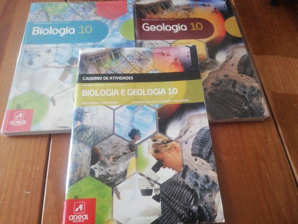 Biologia e Geologia 10. Manuais  Areal. Terra, Universo de Vida.