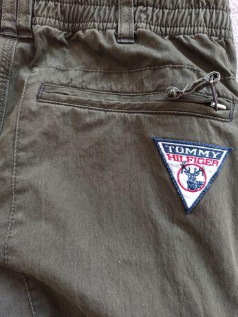 Tommy Hilfiger spodnie bojówki oryginalne ocieplane khaki XL damskie