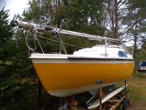sprzedam jacht kabinowy , Wenderer IV, żaglowo motorowy , używany