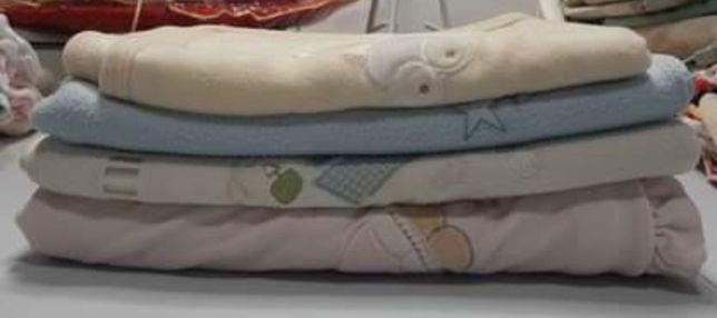 Toalhas de banho e mantas para bebé