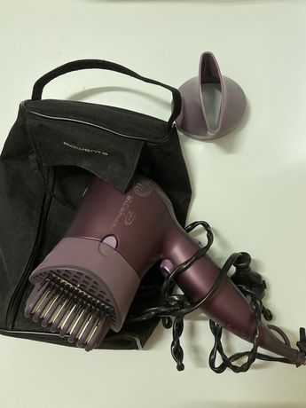 Secador / alisador de cabelo alisamento Iões e placa cerâmica