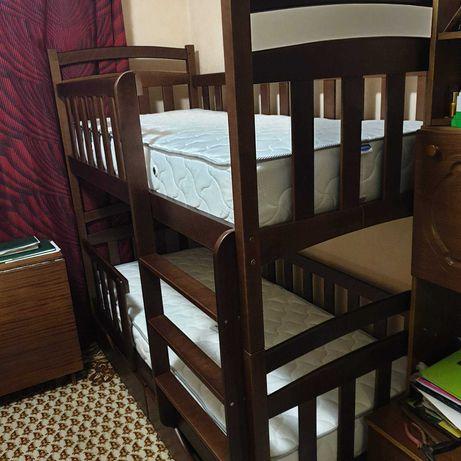 Детская мебель купить кровать двухъярусная - кроватка трансформер