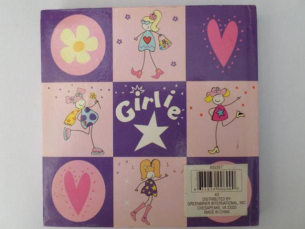 """Блокнот для девочки """" Girlie""""."""