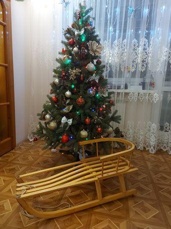 Санки деревянные Польша