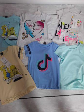 Sprzedam koszulki 128