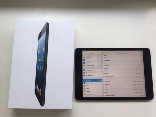 Apple iPad mini 1G 16 гб Wi - Fi 3 G