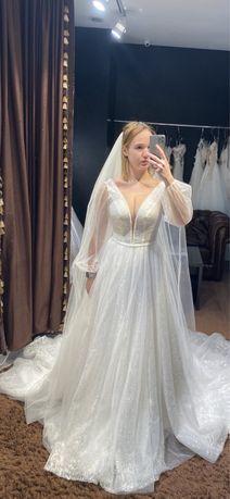 Свадебное платье Франция