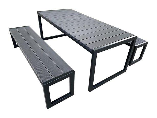 Stół ogrodowy z kompozytu