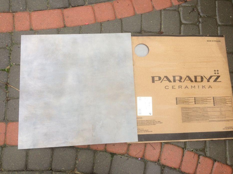 Płytki Tecnig Grafit Gres Mat 60x60 Paradyż, 2,14 m.kw. Rzeszów - image 1