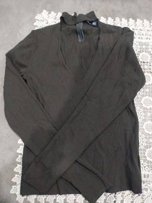 Bluzka, koszulka ZARA, czarna Chorzów - image 1