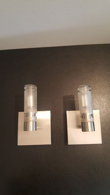 Lampy łazienkowe kinkiety 2 szt