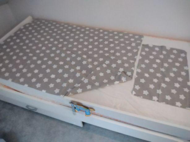Pościel do łóżeczka gwiazdki 100x135 i 35x55
