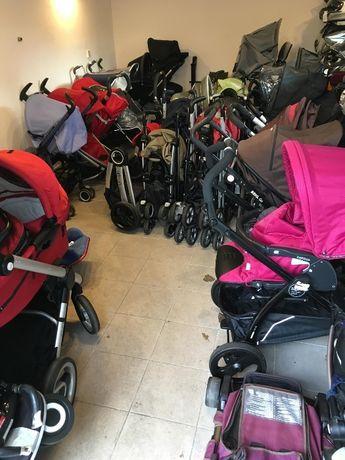 Używane firmowe wózki dziecięce
