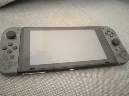 Nintendo Switch wersja Monster Hunter Rise na gwarancji