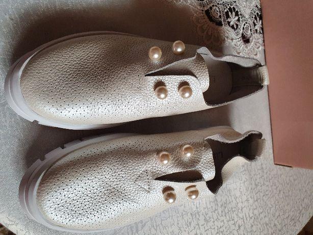 туфлі літні балетки