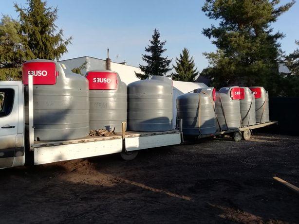 Zbiornik na ropę paliwo ON dwupłaszczowy 1500 bon 300zł