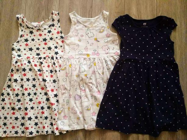 Платтячка для дівчинки від H&M на 3-5років