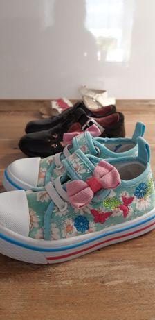 Trampki, balerinki, sandałki dla dziewczynki roz.23-24