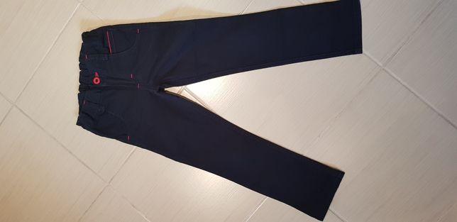 Spodnie chłopięce granatowe rozmiar 116