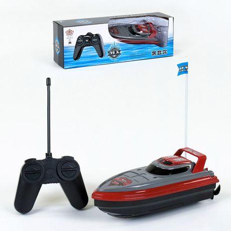 Катер на пульту управления Игрушка лодка на радиоУправлении пульте ду